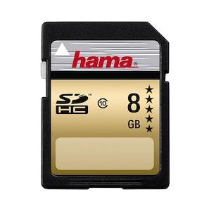 Card de memorie Hama Gold SDHC, 8GB, Class 10