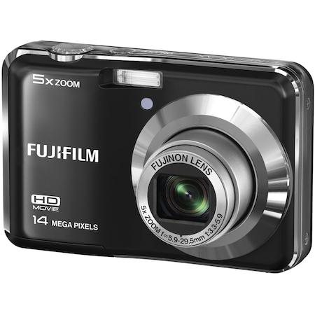 Дигитален фотоапарат Fujifilm FinePix AX500, 14MP, черен