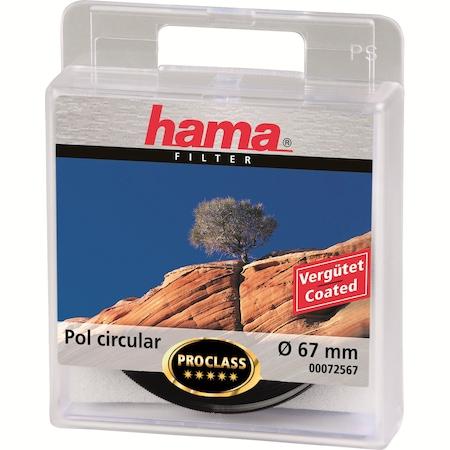 Hama cirkuláris polárszűrő, 67.0 mm