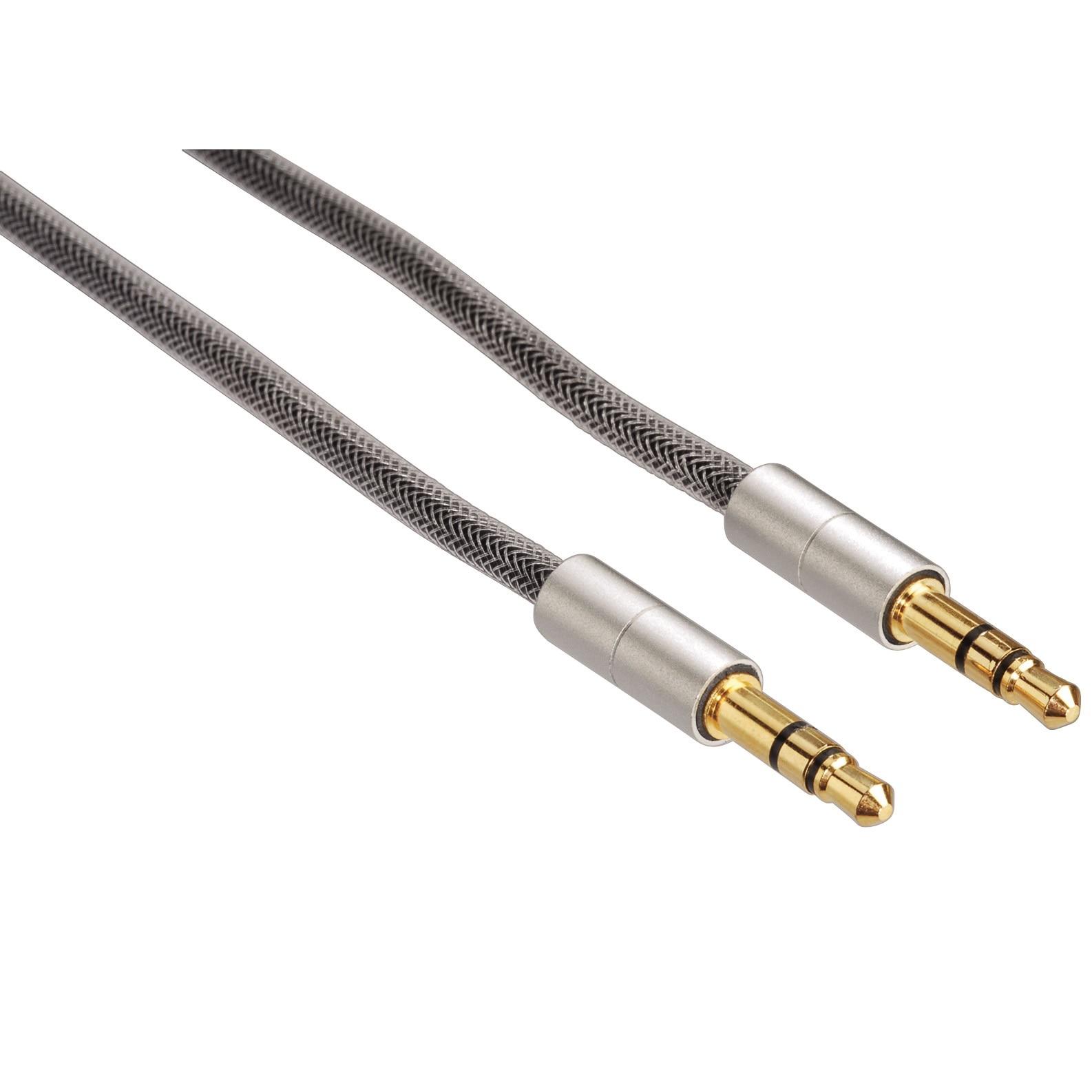 Fotografie Cablu audio Hama 80868 3.5 mm jack, plug - plug, 0.5 m