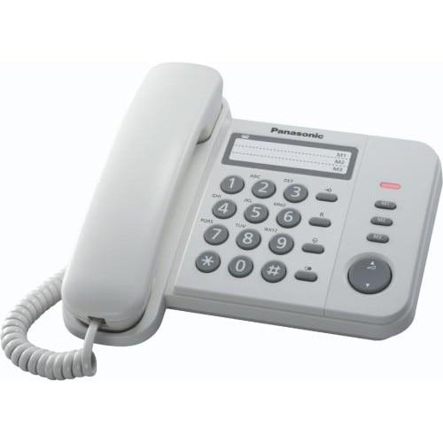 Fotografie Telefon fix analogic Panasonic KX-TS520FXW, White