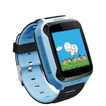 "Ceas smartwatch copii cu GPS TechONE™ Q528, cu functie telefon, ecran touchscreen 1.44"", camera foto 1.3MP, monitorizare spion, lanterna, buton SOS, albastru"