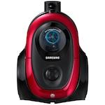 Samsung VC07M2110SR porzsák nélküli porszívó, 1.5 l, 700 W, teleszkópos cső, Anti-tangle Cyclone, Piros