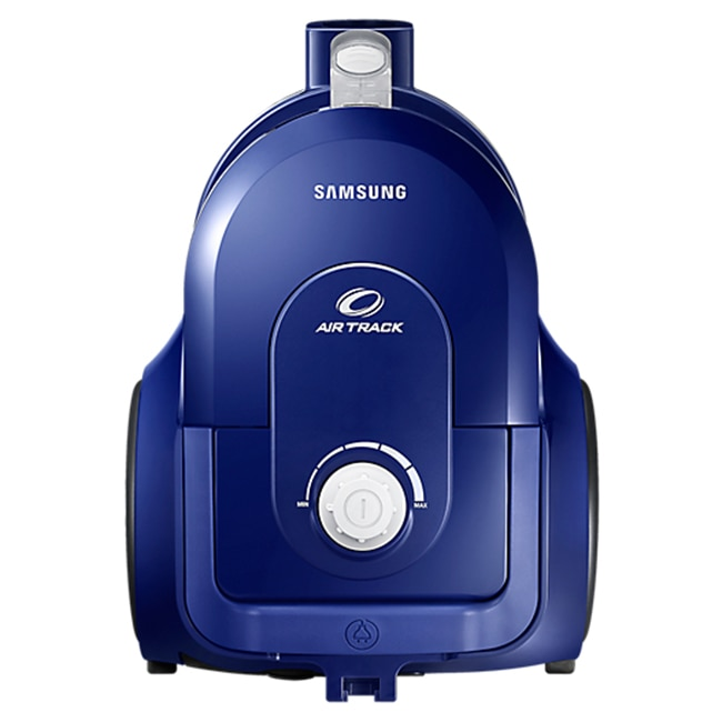 Fotografie Aspirator fara sac Samsung VCC43Q0V3B, 1.3 l, 850 W, Air Track, Tub telescopic, Albastru