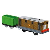 Toby Trackmaster mozdony rakománnyal