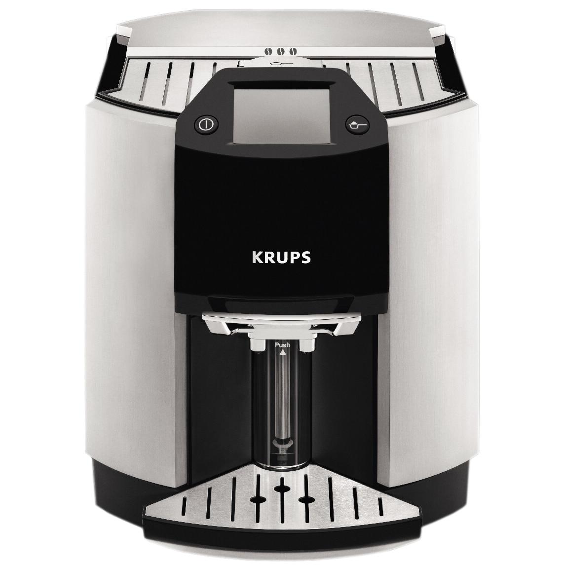 Fotografie Espressor automat Krups Barista EA901030, 15 bar, 1.7 l, Argintiu