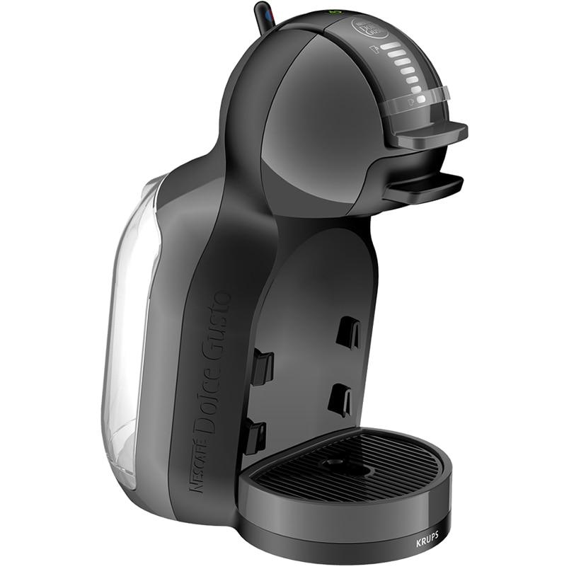 Fotografie Espressor Krups Nescafe Dolce Gusto Mini Me KP120831, 0.8 l, 1500W, 15 bar, Capsule, Negru/Antracit