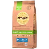 Hrana uscata pentru caini Petkult Sensitive, Maxi Adult, Miel & Orez, 12 kg