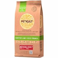 Hrana uscata pentru caini Petkult Sensitive, Medium Adult, Miel & Orez, 12 kg