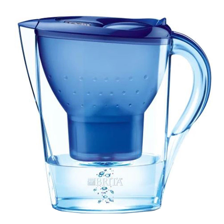 Fotografie Cana de filtrare apa Brita Marella Cool BR100297, 2.4 l, Albastru
