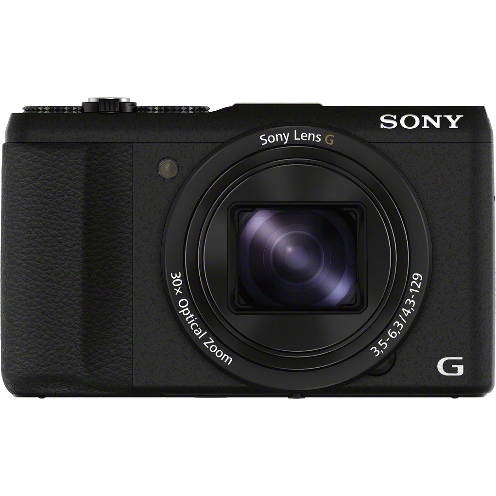Fotografie Aparat foto digital Sony Cyber-Shot DSC-HX60, 20 MP, Wi-Fi, Black