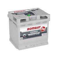 Acumulator auto Rombat 12V 55AH PREMIER 540A 207X175X190