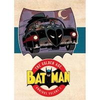 Batman: The Golden Age Omnibus Vol. 2, Bob Kane (Author)