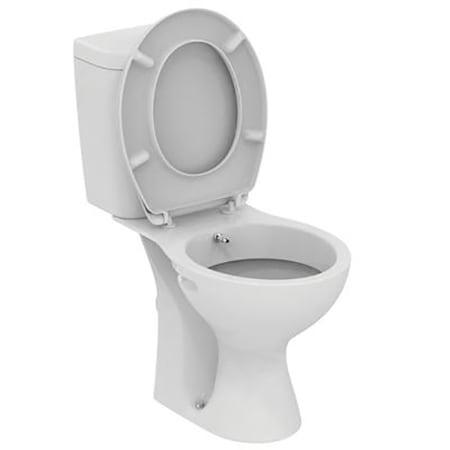 Set vas WC Vidima SevaFresh, cu rezervor, functie de bideu, montare pe pardoseala
