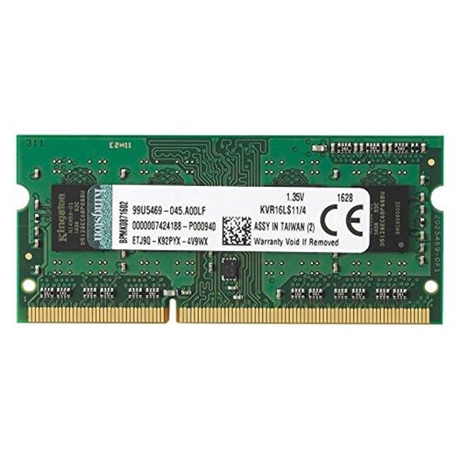 Fotografie Memorie notebook Kingston, 4GB DDR3L, 1600MHz CL11