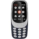 Мобилен телефон Nokia 3310 (2017), Dual SIM, Dark Blue