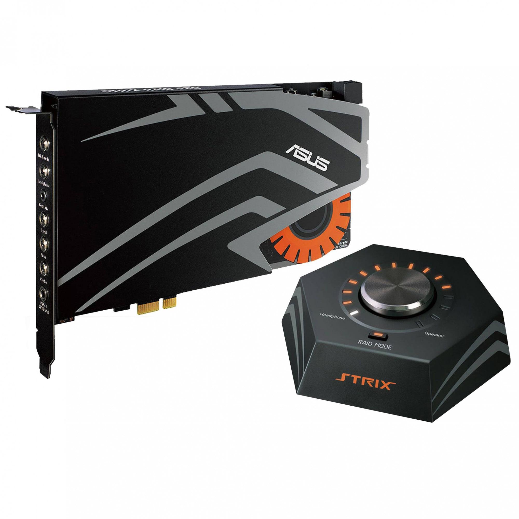Fotografie Placa de sunet ASUS STRIX RAID DLX, 7.1, PCIe