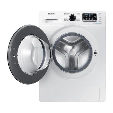 Masina de spalat rufe Samsung WW70J5545FW/LE, EcoBubble, 7 kg, 1400 RPM, Clasa A+++, 60 cm, Alb