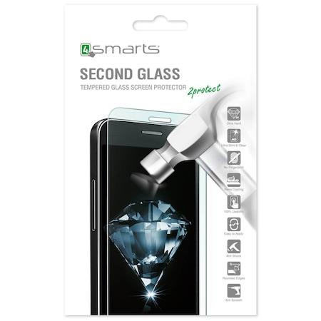 Калено о защитно покритие 4smarts Second Glass за дисплея на LG Stylus Plus 2, Стъкло, Прозрачен