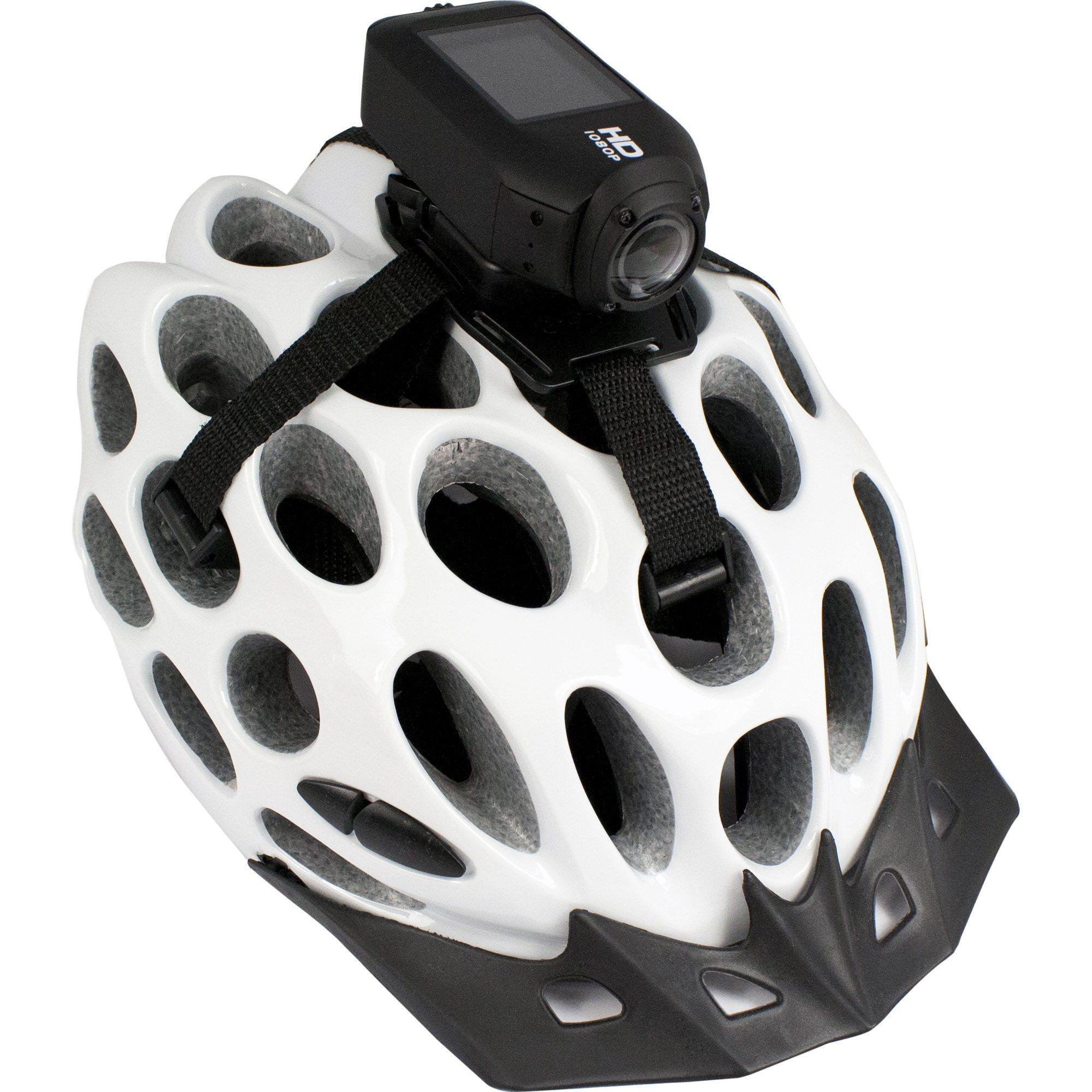 Fotografie Sistem prindere Drift pe casca ventilata pentru Camere Video Sport