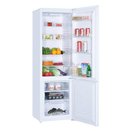 Хладилник с фризер Heinner HC-H273WF