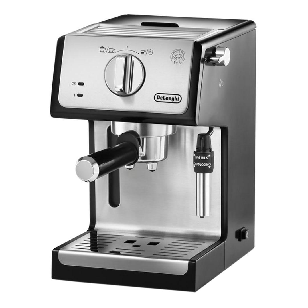 Fotografie Espressor manual De'Longhi ECP 35.31, 1100 W, 15 bar, 1.1 l, Negru