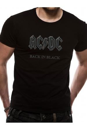 Tricou - AC/DC - Back In Black