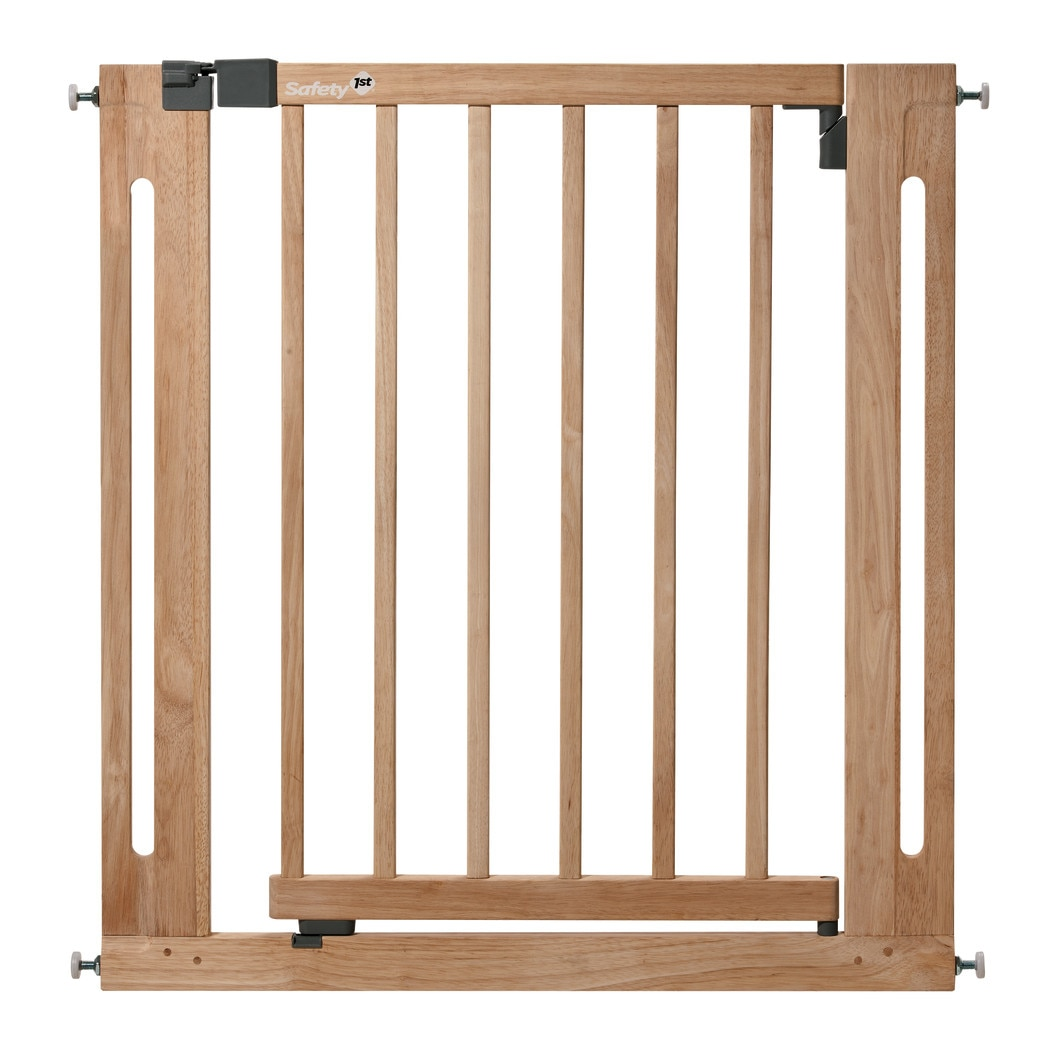 Fotografie Poarta de siguranta Safety 1st Easy Close Wood, 73-81 cm