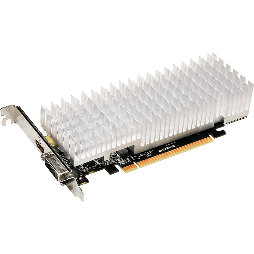 Fotografie Placa video Gigabyte GeForce GT 1030 Silent Low Profile, 2GB DDR5, 64-bit