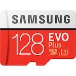 Card de memorie Samsung Micro-SDXC EVO Plus 128GB, Class 10, UHS-I U3 + adaptor SD