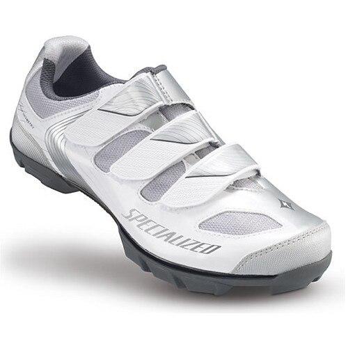 Specialized Riata női MTB kerékpáros cipő 39 es 3 tépőzáras, fehérezüst eMAG.hu