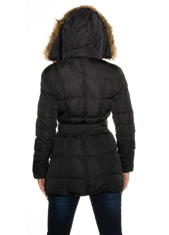 Női kabát Stradivarius, fekete, méret L eMAG.hu