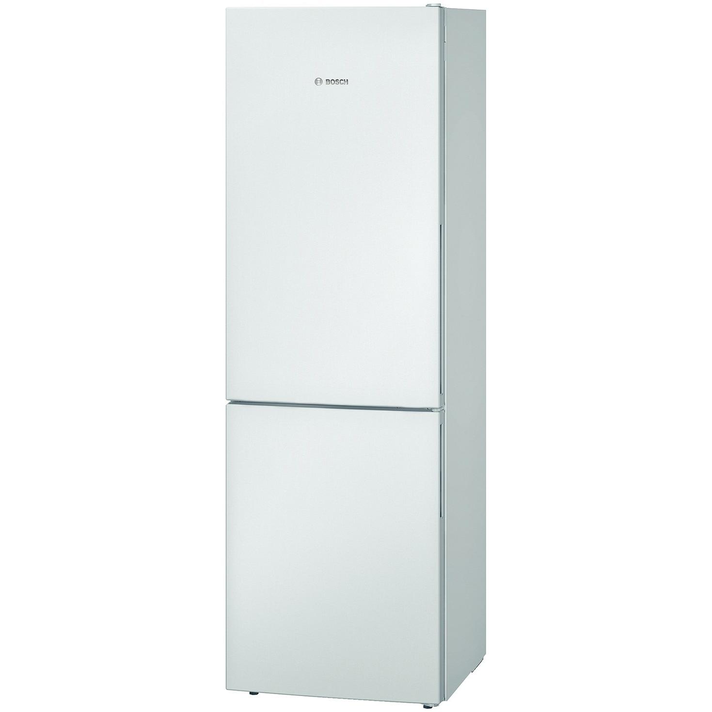 Fotografie Combina frigorifica Bosch KGV36UW30, 309 l, Clasa A++, Low Frost, VarioZone, H 186 cm, Alb