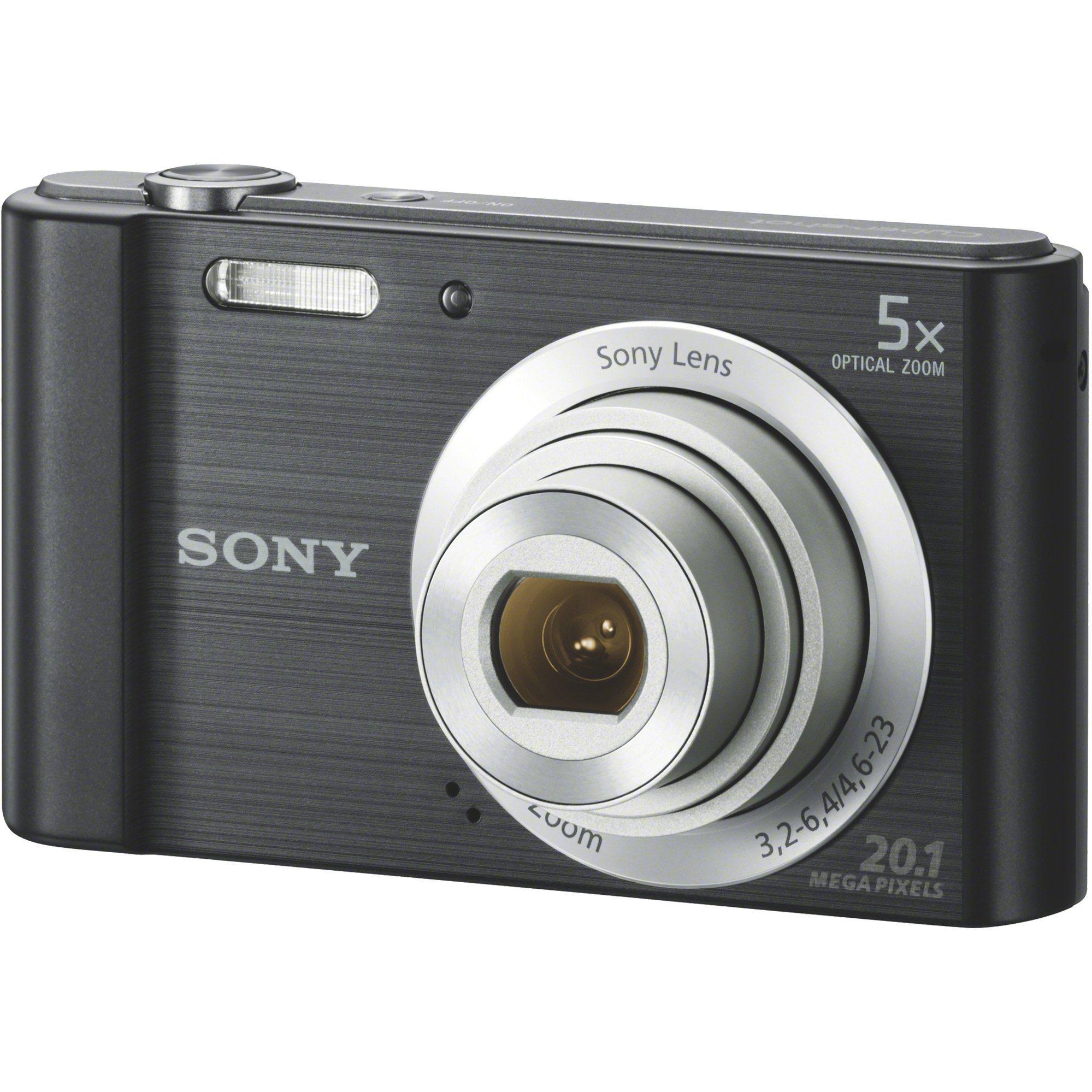 Fotografie Aparat foto digital Sony Cyber-Shot DSC-W800, 20MP, Black