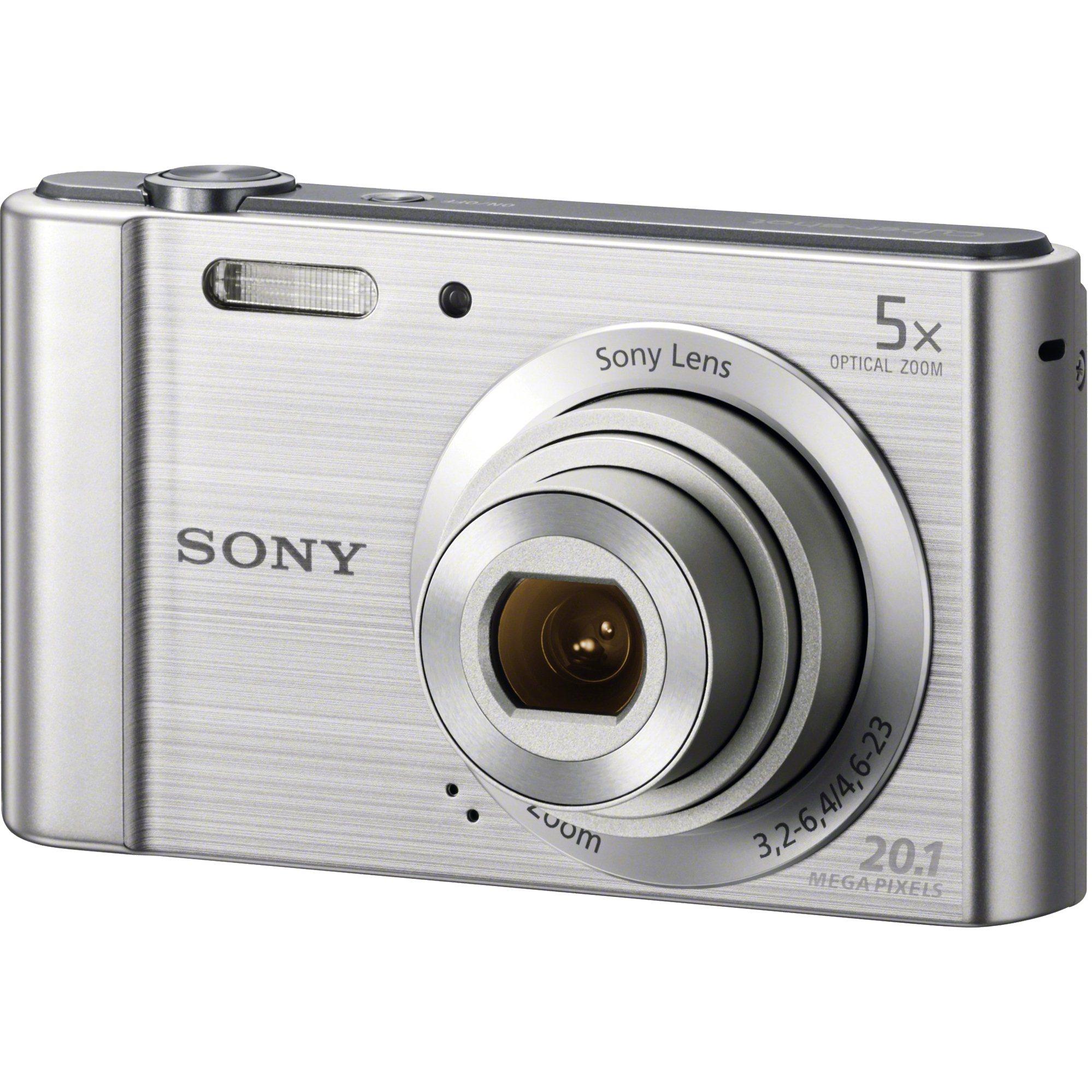 Fotografie Aparat foto digital Sony Cyber-Shot DSC-W800, 20MP, Silver