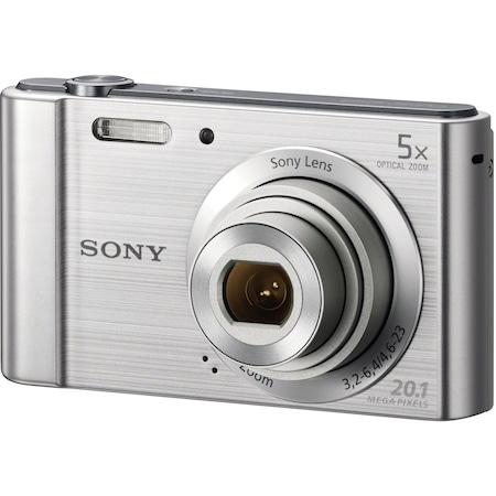 Aparat foto digital Sony Cyber-Shot DSC-W800, 20MP, Silver