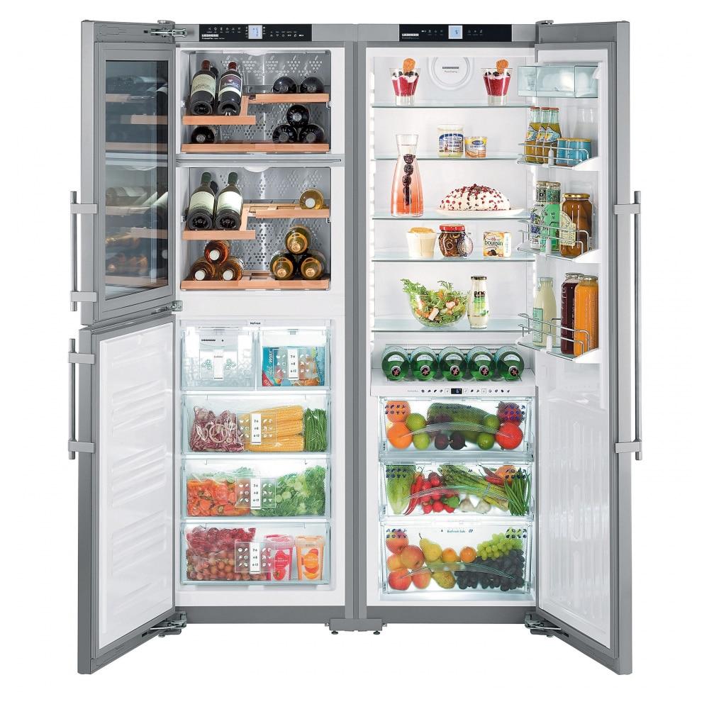 Side by side хладилник Liebherr SBSes 7165