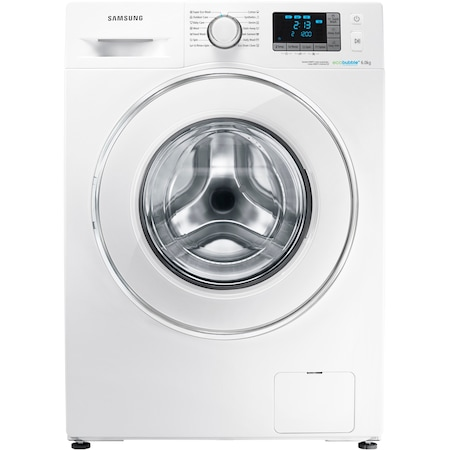 Masina de spalat rufe Slim Samsung WF60F4E5W2W, 1200 RPM, 6 kg, Clasa A++, Eco Bubble, Alb