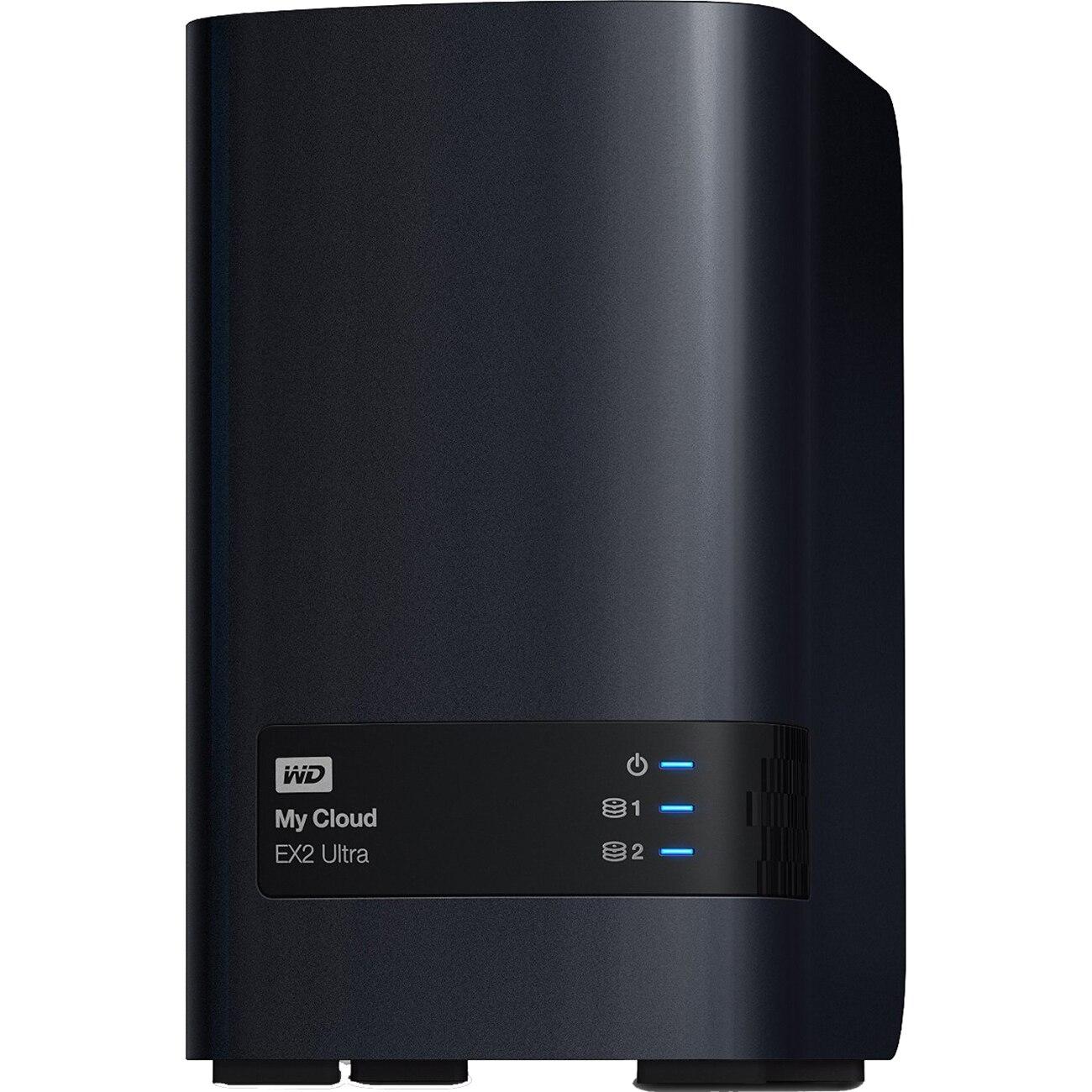 Fotografie Network Storage WD My Cloud Expert Series EX2 Ultra 16TB, Gigabit Ethernet, USB 3.0