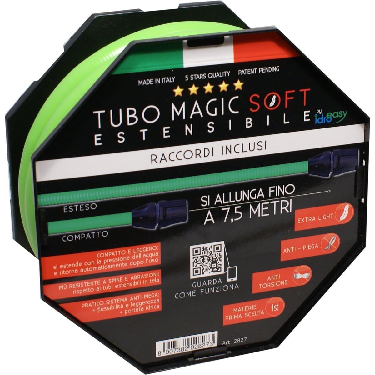 Fotografie Furtun gradina Tubo Magic, 7.5 m, 2 fittinguri