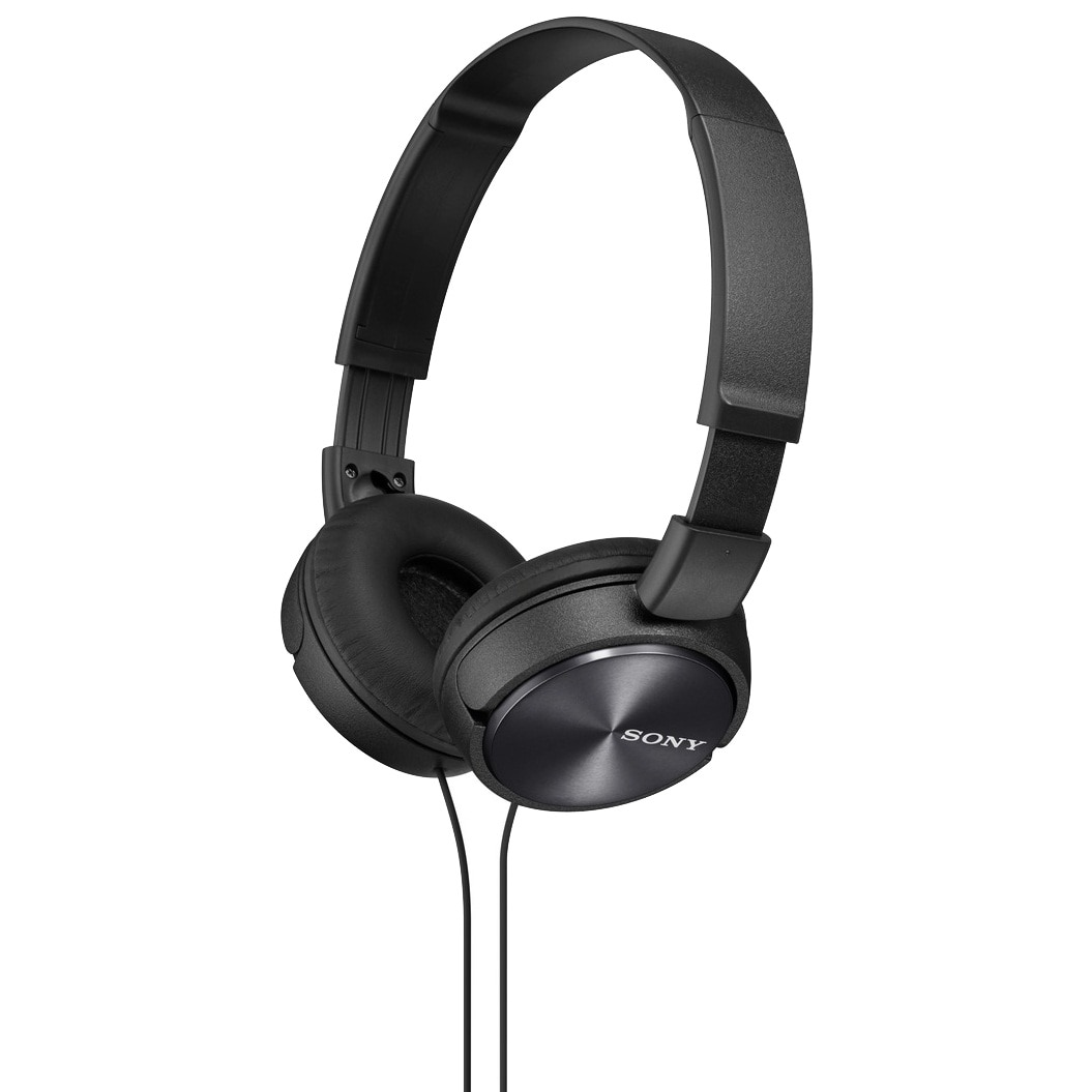 Fotografie Casti audio Sony MDRZX310B, tip DJ, Negru