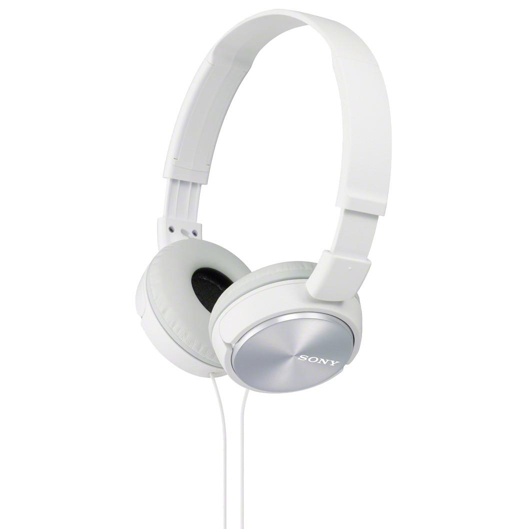 Fotografie Casti audio Sony MDRZX310W, tip DJ, Alb