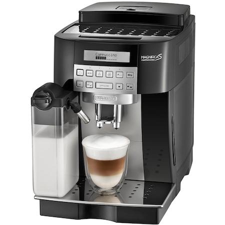 Espressor automat De'Longhi Magnifica S ECAM 22360, 1450W, 15 bar, 1.8 l, Negru/Inox