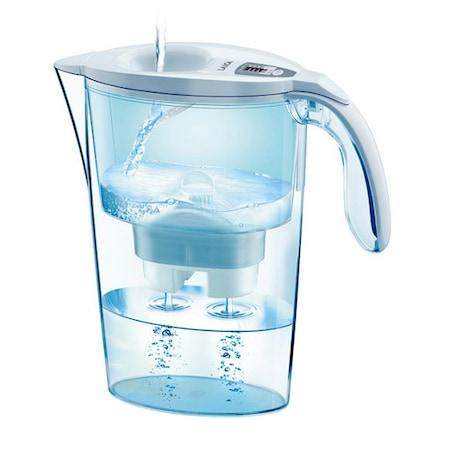 Кана за филтриране на вода Laica Stream White, Бяла