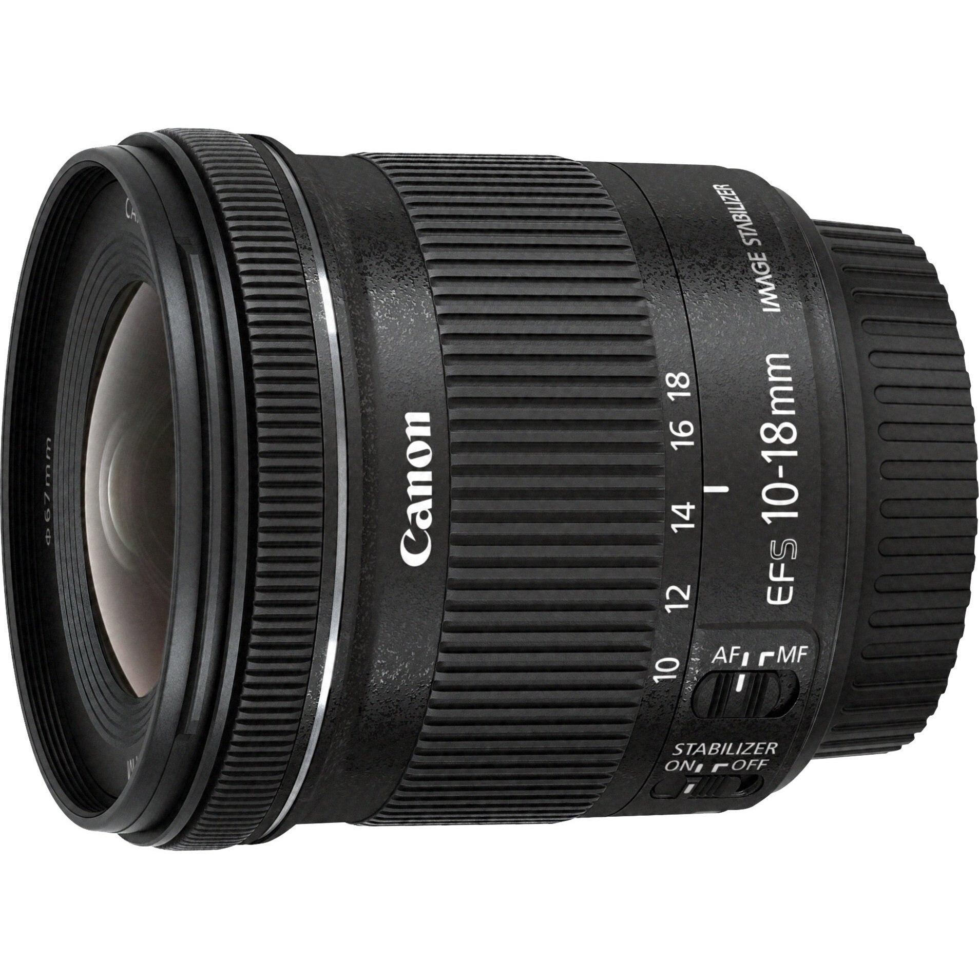 Fotografie Obiectiv Canon EF-S 10-18mm IS STM