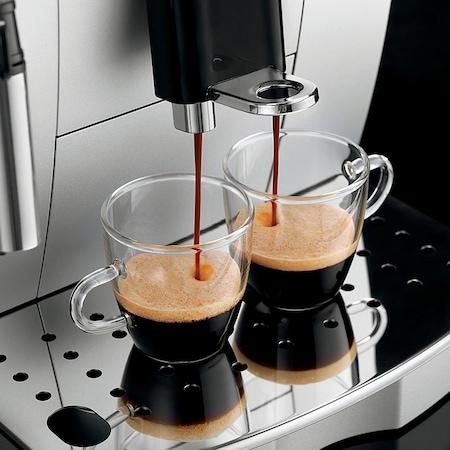 Кафеавтомат DeLonghi Magnifica S ECAM 22.110B, 15 bar, 1450 W, Метална кафемелачка