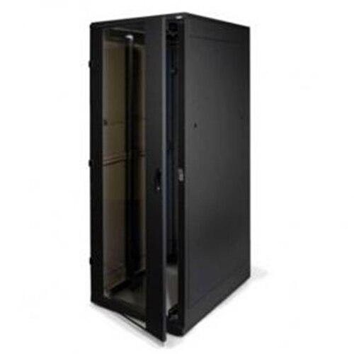 """Fotografie Cabinet metalic Triton 19"""", RMA de pardoseala, 42U 600 x 1000, Negru"""