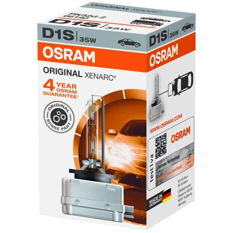 Fotografie Bec auto Xenon pentru far Osram D1S, 35W, 1 Buc