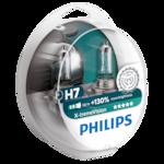 Philips H7 X-treme Vision 12972 XV+S2, +130%, 12V, 55W, halogén autóizzó készlet, 2 db/csomag