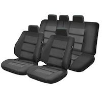 Umbrella Premium Lux autós üléshuzat készlet, M01, 11 db, Fekete